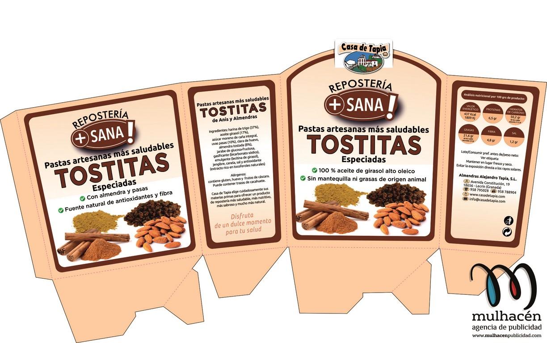 Diseño de packaging en Granada Caja Tostitas - Limon y nueces01