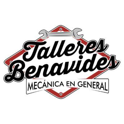 diseño de logotipo para taller mecanico Benavides en Granada