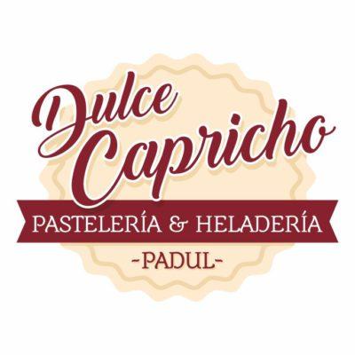 Diseño de logotip para Dulce Capricho, el Padul Granada