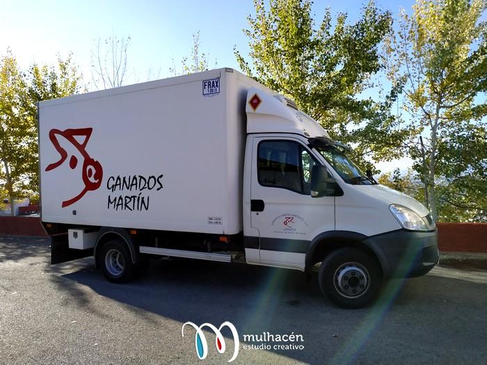 Rotulación de flota de vehículos en Granada